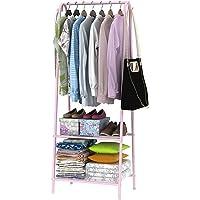 Generic * Coat Stan Bag Hat ES Coa Rack Hanger Clothes Coat S Clothes Coat Stand Hanger Storage Garment Shelf Metal Color:Random Shelf Metal Shoes Rack Ment Shelf Metal