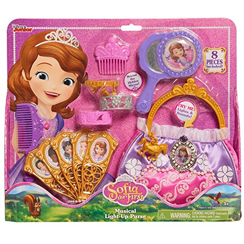 Just Play Sofia the First Musical Light-Up Purse (Design Your Own Costume Online Free)
