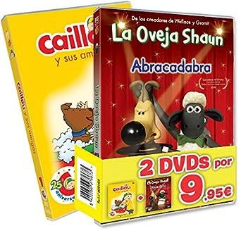 Pack Con Faja Collección Caillou 25 Aniversario Vol. 1 + La Oveja ...