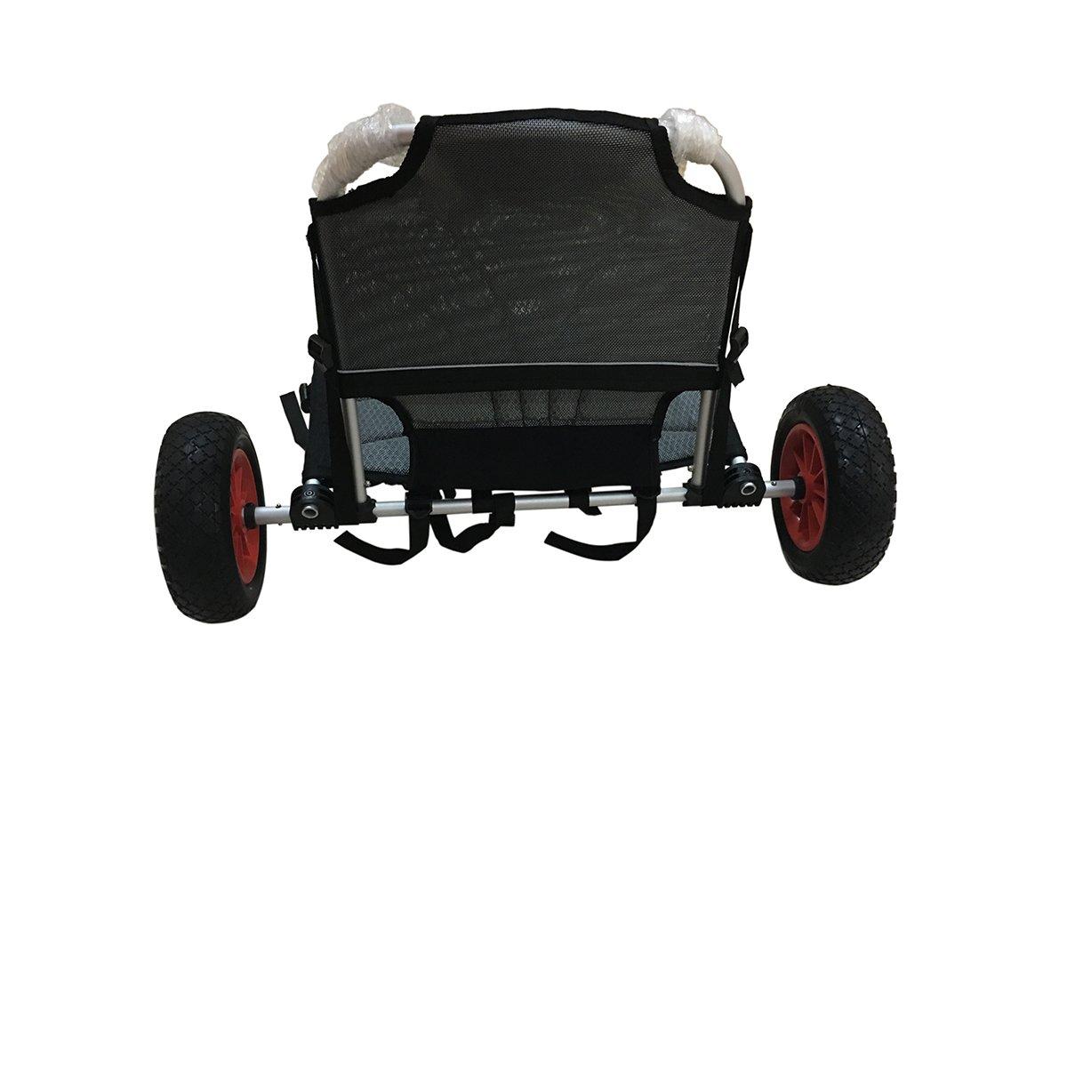 Amazon.com: liker 2 in1 Carrito para kayak con aluminio ...