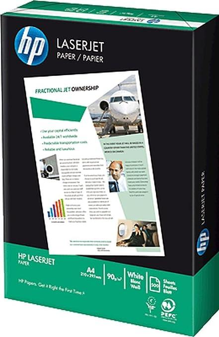 HP CHP310 All Laserjet - Papel de impresora (tamaño A4, 90 g, 500 ...