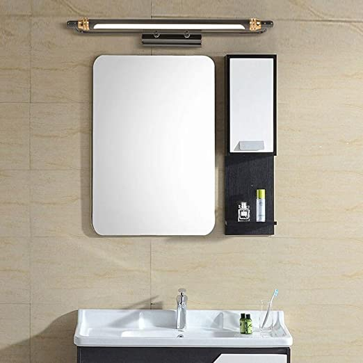 Specchio Bagno Nero.Aoligei Luce Frontale Specchio Semplice Bagno Led Luci