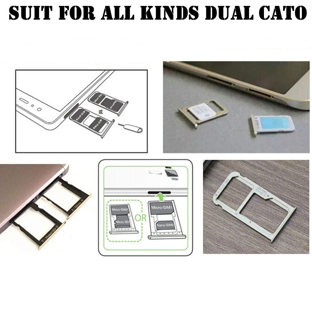 Micro SD Extender Nano Cato Android Adaptador de Tarjeta SIM Doble Universal TF Hybrid Sim