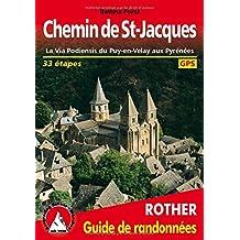 CHEMIN DE ST JACQUES FRANCE (FR) GPSVIA PODIENSIS PUY EN VELAY PYR