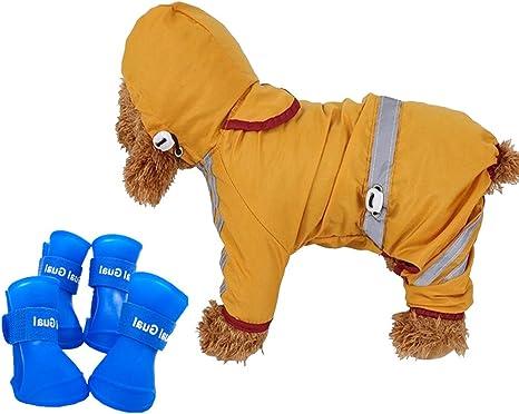 Amazon.com: Juego de chubasquero y botas de lluvia para ...