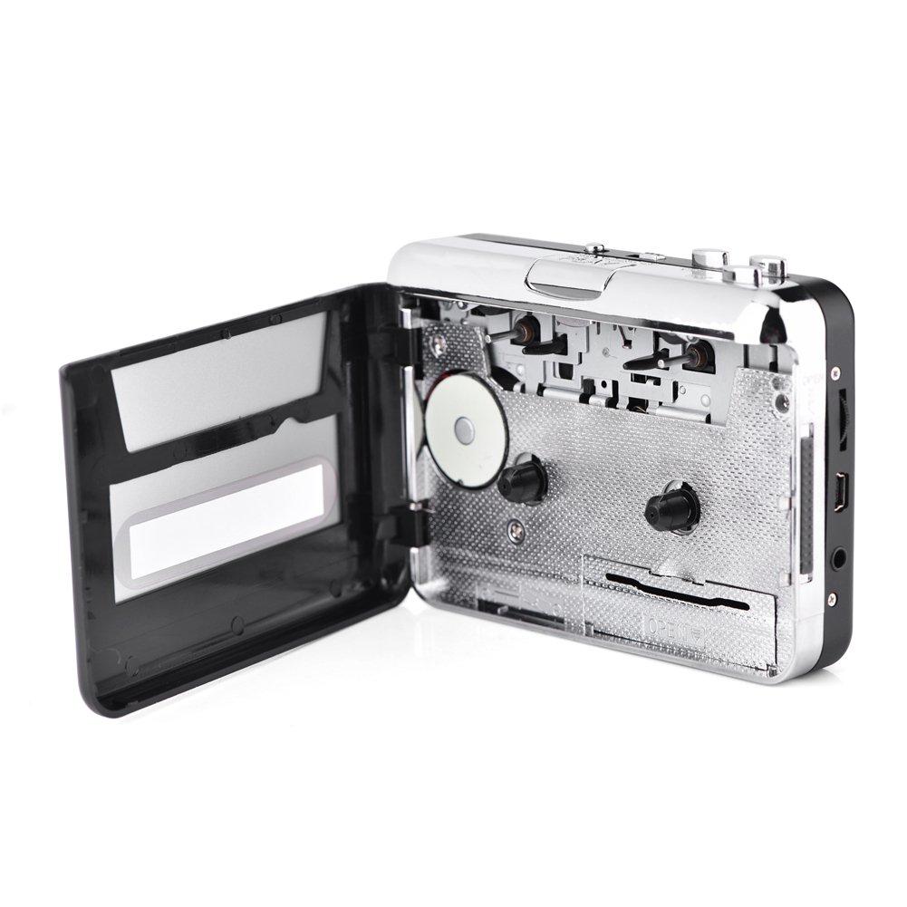 USB Cassette Tape to PC MP3 CD Switcher Converter Capture Audio Music Player with Headphones Zerone Cassette Converter