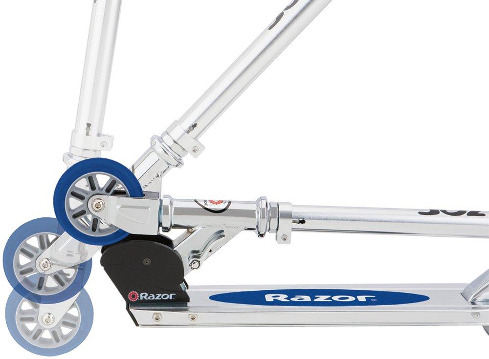 Amazon.com : Razor A Kick Scooter (Blue) : Sports Kick Scooters : Sports & Outdoors