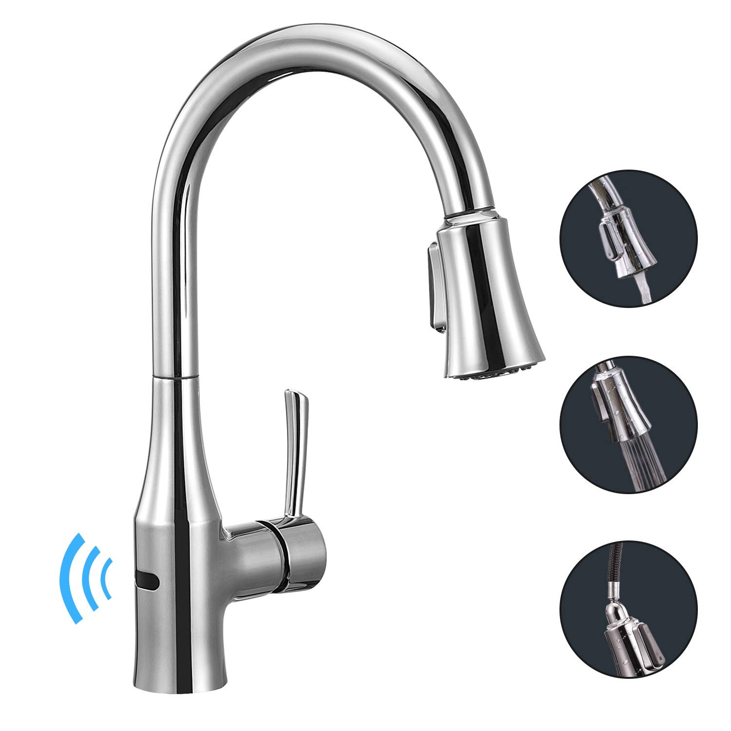 8. Anza Touchless Wave Touchless Faucet