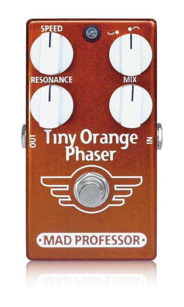 Mad Professor Phaser マッドプロフェッサー エフェクター フェイザー (New) Professor Tiny Mad Orange Phaser【国内正規品】 B00J3DIFCK, 小池時計店:ce0b0eb5 --- idelivr.ai