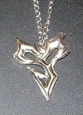 Pendant necklace final fantasy 10 x tidus squarenix nine