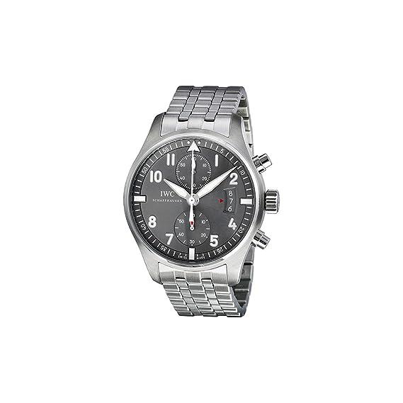IWC IW387804 - Reloj, correa de acero inoxidable color plateado