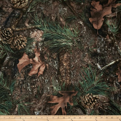 Springs Creative Products True Timber Outdoors Camouflage Ovation Mixed Pine,