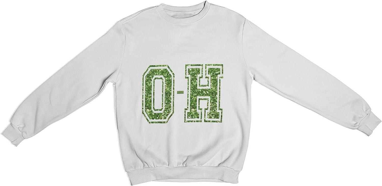 H Crewneck Sweatshirt Green Unisex O