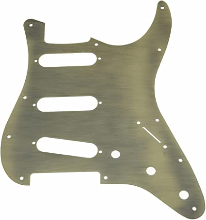 Stratocaster 3 x P90 Pickguard 11 hole Strat scratchplate various colours