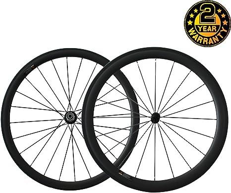 Youcan Bike - Ruedas de carbono 700C para bicicleta de carretera ...