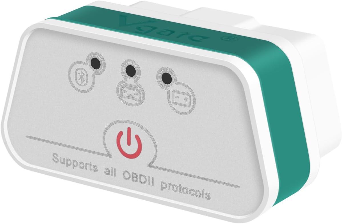 vgate - iCar 2 Bluetooth 3.0 - Color Blanco/Verde