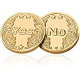 Gera Jenin Decision Making Flipping Coin YES or NO Fortune Medallion