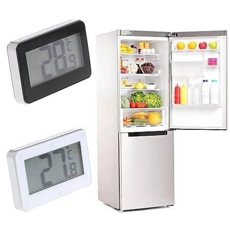 Waterproof Fridge Refrigerator Digital LCD Thermometer Freezer w// Hanging Hook