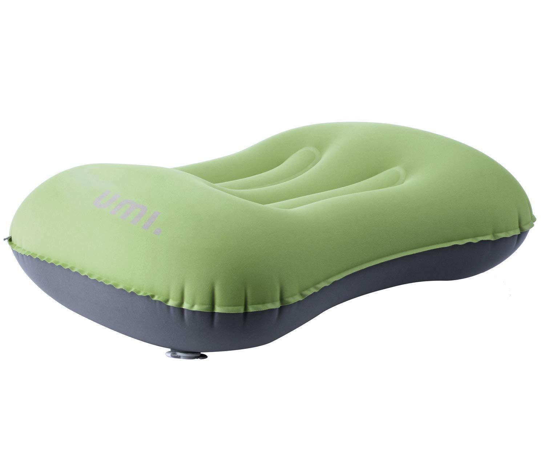Umi Azul Essentials Almohada de Camping Inflable Ultraligera con Bolsa de Transporte