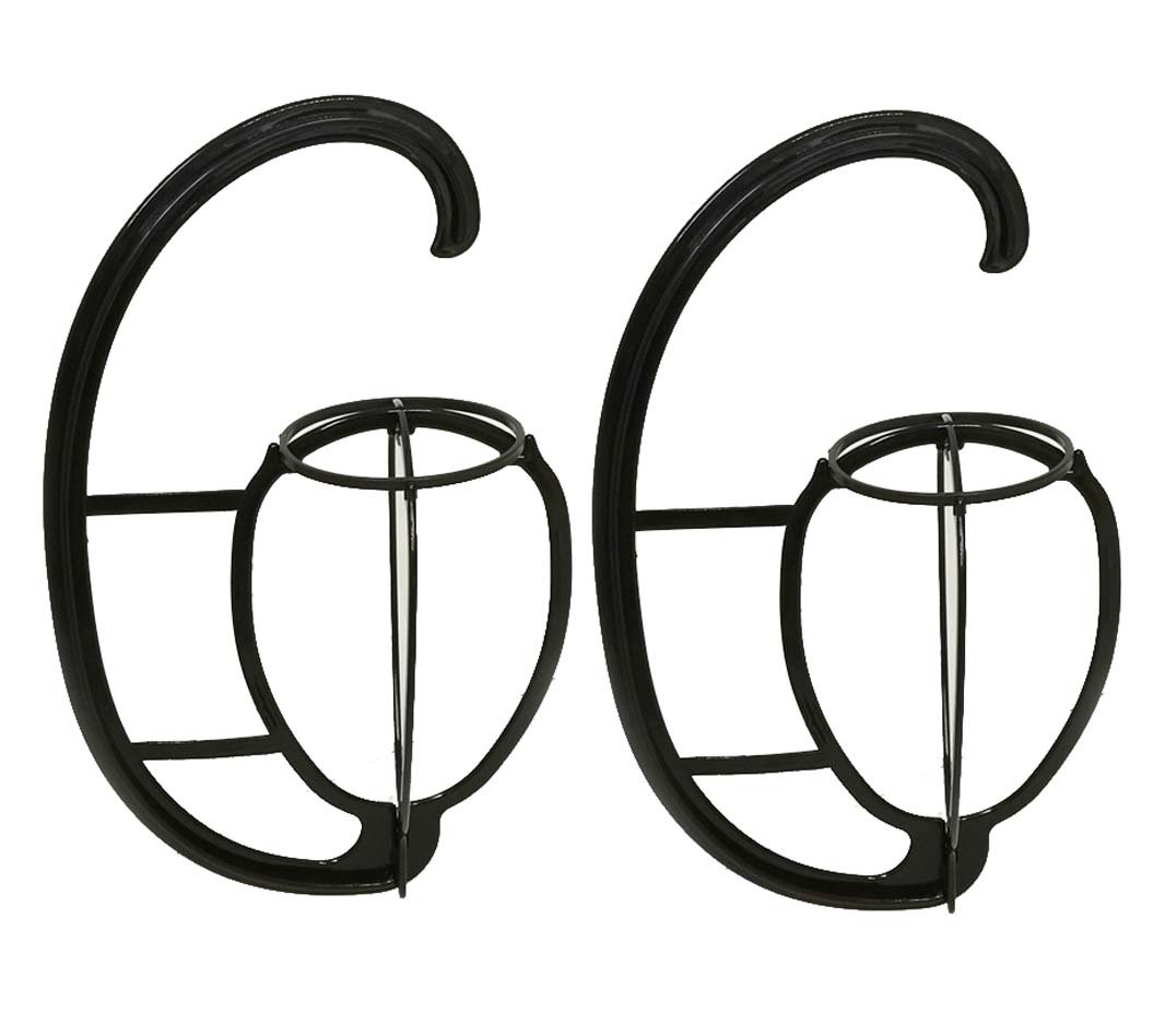 2 Pack Folding Wig Hanger Portable Plastic Wig Hanging Stand Wig Dryer Holder Display Tool for Wigs and Hats