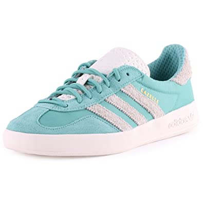 check out 5c16e 6706b adidas Originals Mint Green Gazelle Indoor Trainers. 8 Turquoise