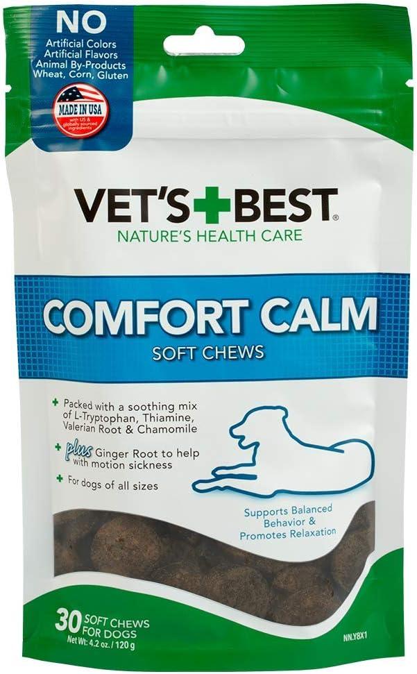Vet's Best Comfort Calm Soft Chews Dog Supplement