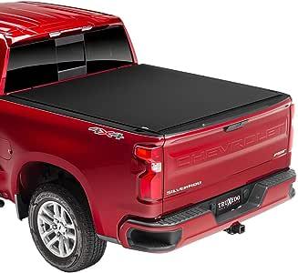"TruXedo Pro X15 Soft Roll Up Truck Bed Tonneau Cover | 1472001 | fits 14-18, 2019 Limited/Legacy GMC Sierra & Chevrolet Silverado 1500, 2500HD, 3500HD 6'6"" bed"