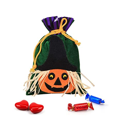 Leegoal Halloween - Bolsas con cordón para Halloween, tamaño ...
