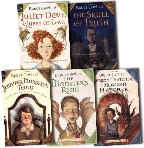 Magic Shop Books Collection Bruce Coville 5 Books Set Pack Dove Magic Shop