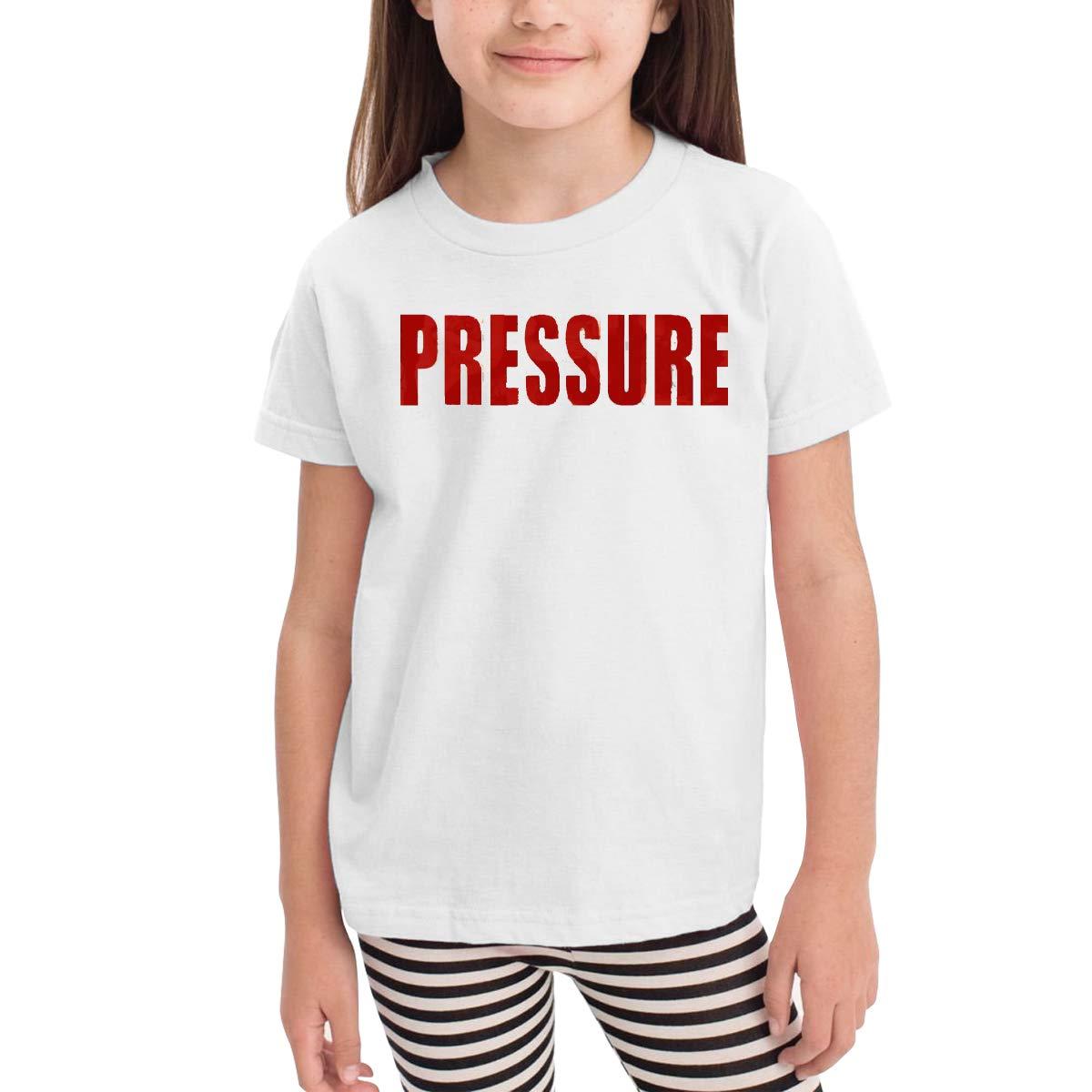 HipsterShirt White Kangtians Hannah Children Pressure-Logo