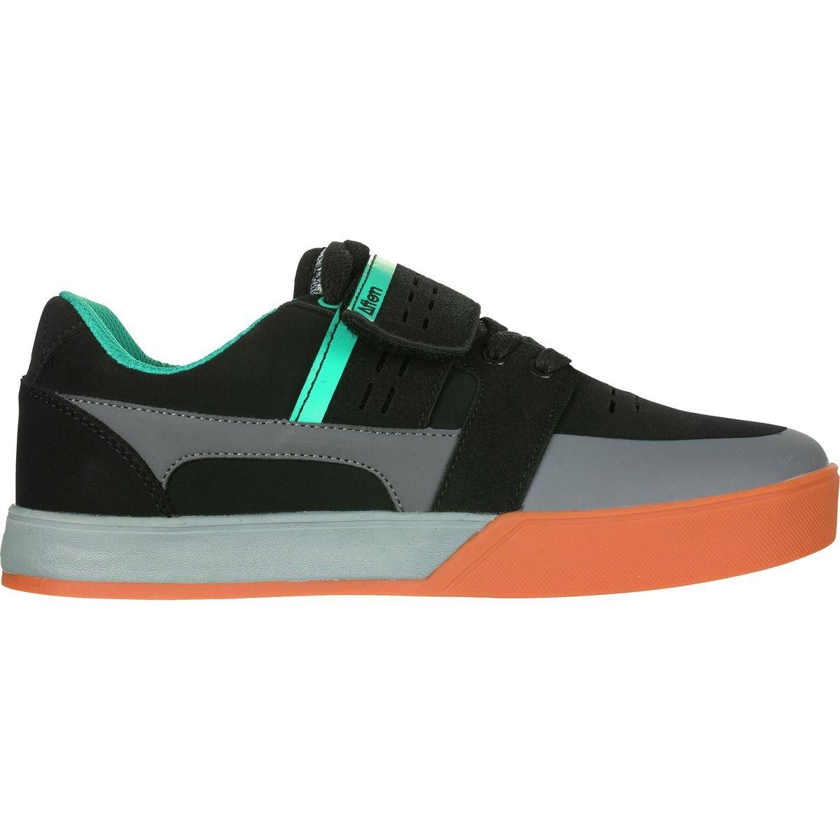 Afton Vectal Shoe – Men 'sブラック/ Turqoise、9.0   B077MRBW7B
