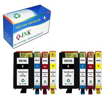Amazon.com: QINK para HP 903 X L Cartucho de tinta Bk/C/M/Y ...