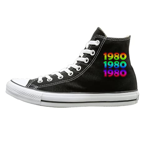 usine authentique bfb32 5af84 Amazon.com: SH-rong 1980 1980 1980-80s High Top Sneakers ...