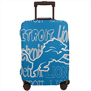 Lion Elastic Travel Luggage Cover,Double Print Fashion Washable Suitcase Protector Cover Fits 18-32inch Luggage