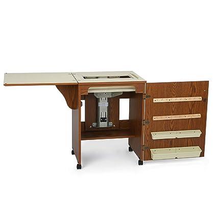 Mueble para máquina de coser- Sewnatra en Roble