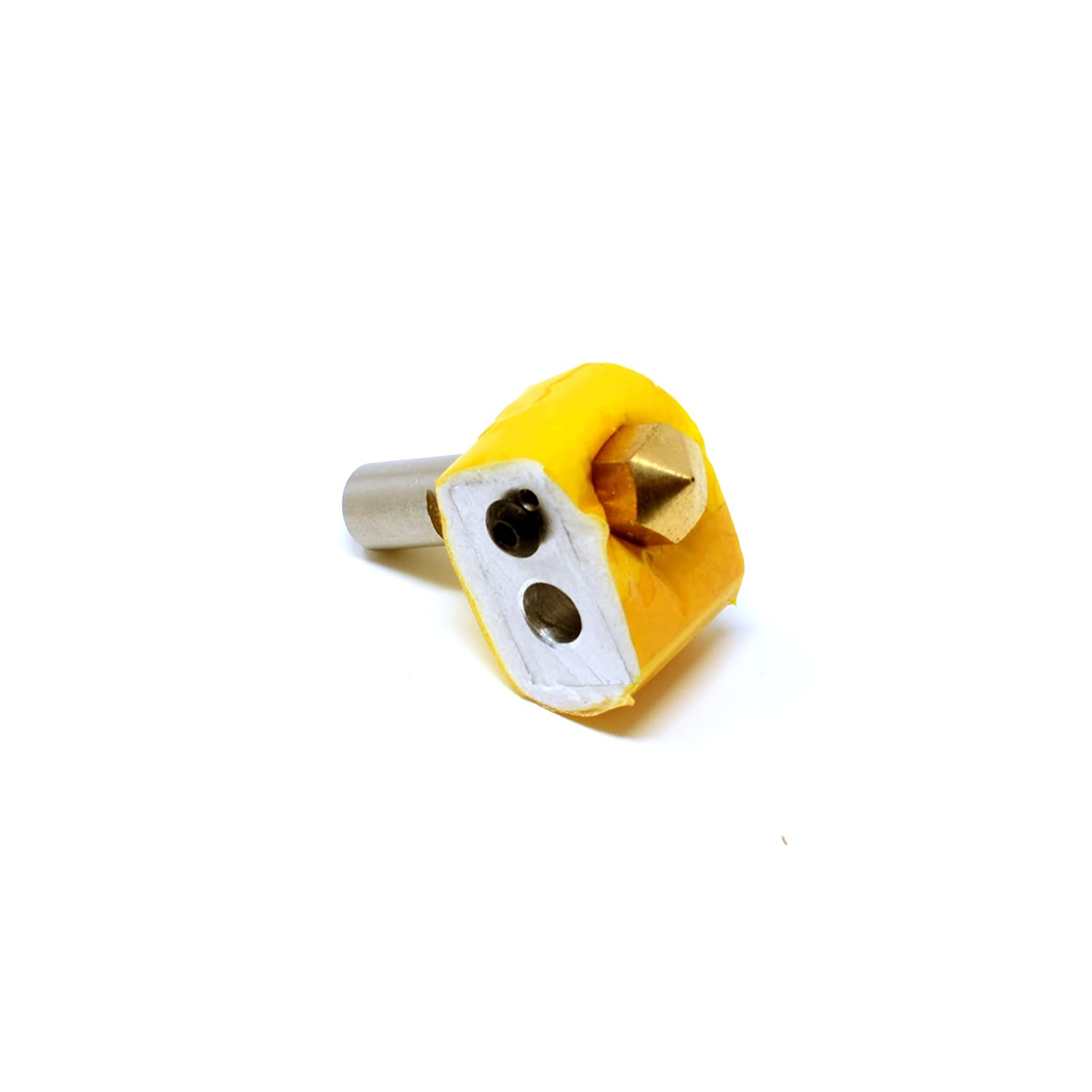Wanhao Throat and PTFE Tube for 3D Printer I3 Anet A8 Monoprice Iron Peak 3D MK10 Hot End Kit with 0.4mm Nozzle Heating Block Reprap FlashForge M7 Threaded