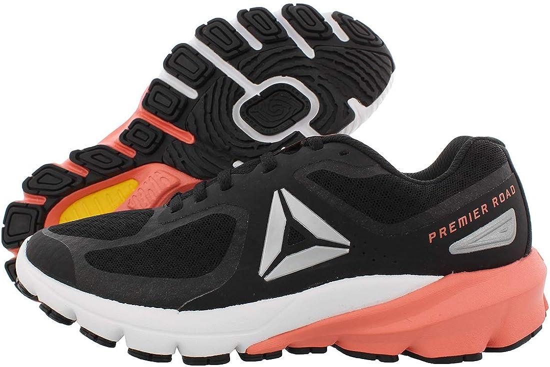 Reebok Premiere Road - Zapatillas de running para mujer XS 22,8 cm, Negro (Negro-blanco-estelar Rosa), 38 EU: Amazon.es: Zapatos y complementos
