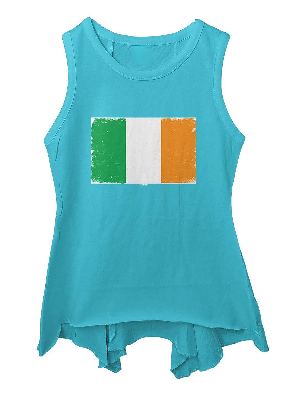 Tcombo Distressed Ireland Flag Irish Pride Toddler//Youth Sleeveless Backswing