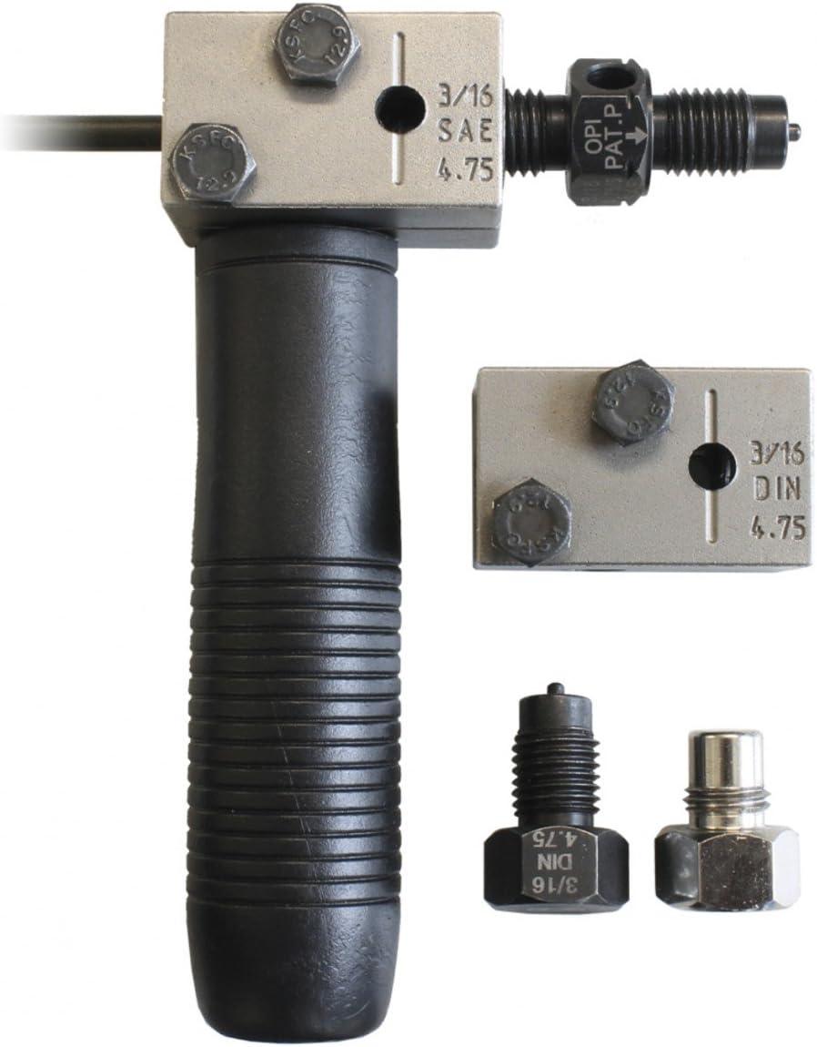 "BGS Bördelgerät DIN 4,75 mm 3//16/"" Bremsleitung bördeln Bördel KFZ Werkzeug"