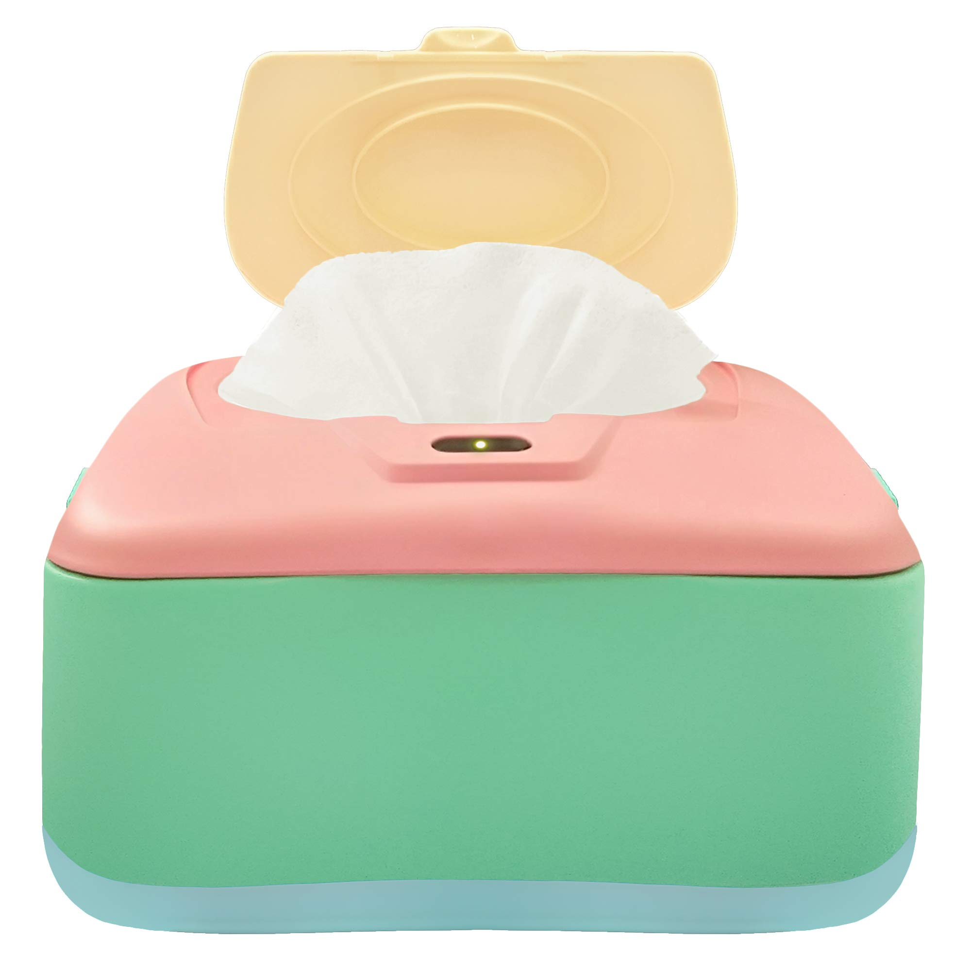 GOGO PURE Baby Wet Wipe Warmer, Dispenser, Holder and Case - with Easy Press On/Off Switch, Only Available at Amazon
