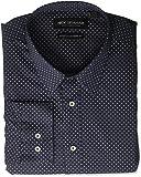 Nick Graham Mens Printed Dot Stretch Dress Shirt