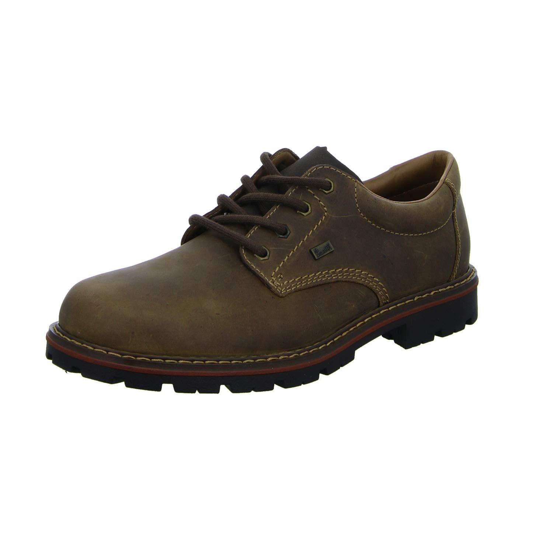 TALLA 46 EU. Rieker 17712 - Zapatos con Cordones de Piel Lisa Hombre