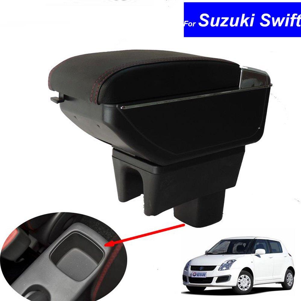 Szss-car Cuir de voiture Accoudoir Console Centrale Box Shen Zhen Le Tian