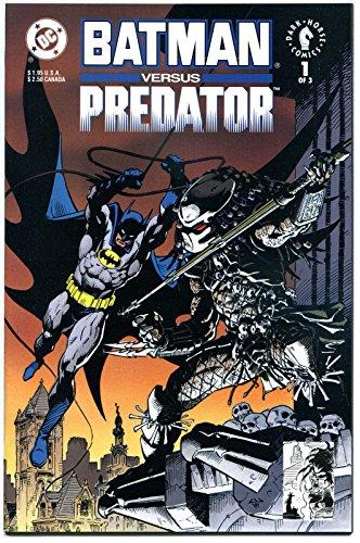 BATMAN vs PREDATOR #1, NM+, Claws, Laser, 1st series, 1991, more in store