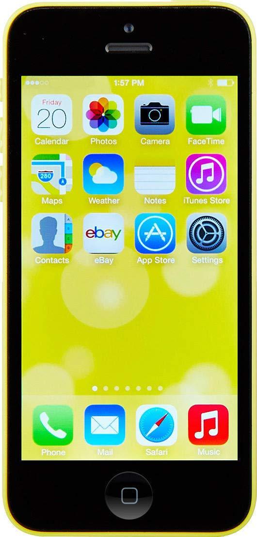 Apple iPhone 5C 16 GB  Unlocked, Yellow (Certified Refurbished)