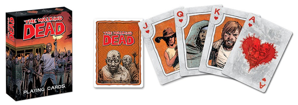 PC095-379 USAopoly Playing Cards The Walking Dead Cards Inc