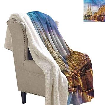 Amazon.com: Willsd European Baby Blanket Illuminated Dom in ...