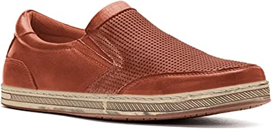 Propet Men's Logan Slip On Sneakers \u0026