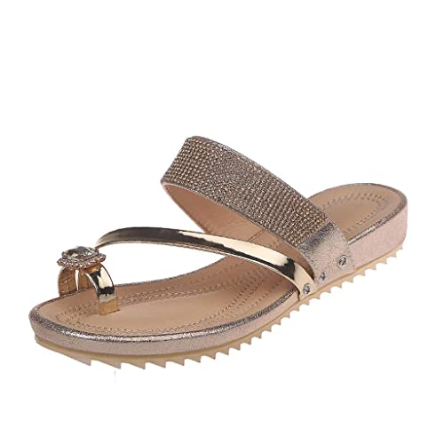 Sencillo Vida Chanclas de Piscina para Mujer Planas Zapatillas de Estar por Casa Cómodos Zapatillas Corrector de juanetes ortopédico Casuales Zapatos de ...