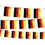 Alsino Deutschland Wimpelkette Girlande Fahne Wimpel Kette Fahnenkette W-DE 4.50 m